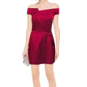 NWT Roland Mouret Red Mini Dress size US 12